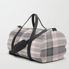 Pink plaid 01 Duffle Bag