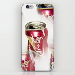 Crushed Coke Can 2 iPhone Skin
