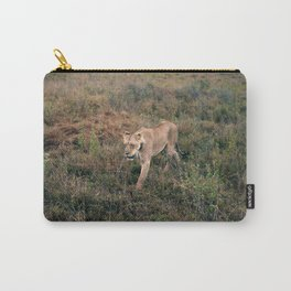 Lone Lion. Carry-All Pouch
