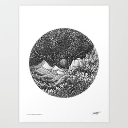 A DREAM IN THE SLEEPLESS WORLD - Visothkakvei Art Print
