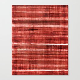 Red Accent Canvas Print