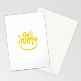 Get Happy! Stationery Cards