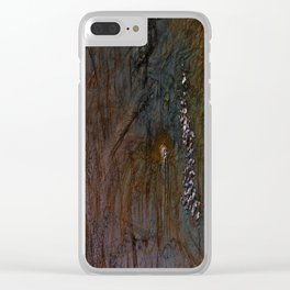 Vanishing Humanity Clear iPhone Case