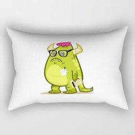 Monster Nerd Rectangular Pillow