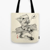 clueless Tote Bags featuring Clueless by SlothStudio