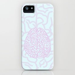 Pastel Brain iPhone Case