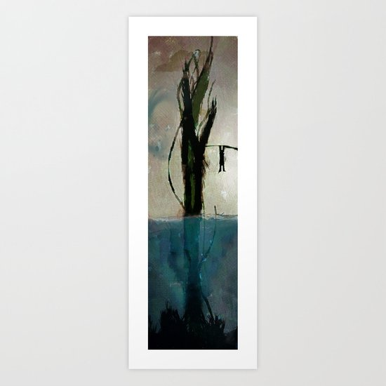 Beanstalk Art Print