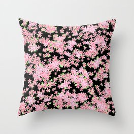 Cherry Blossom Digital Painting 2.0 Throw Pillow