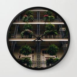 Iron & Ferns Wall Clock