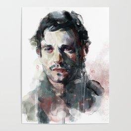 L'uomo dal fiore in bocca Poster