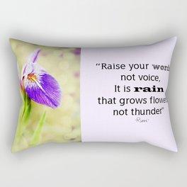 Iris (2) Rectangular Pillow