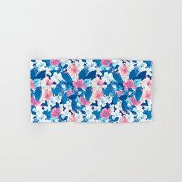 Bloom Blue Hand & Bath Towel