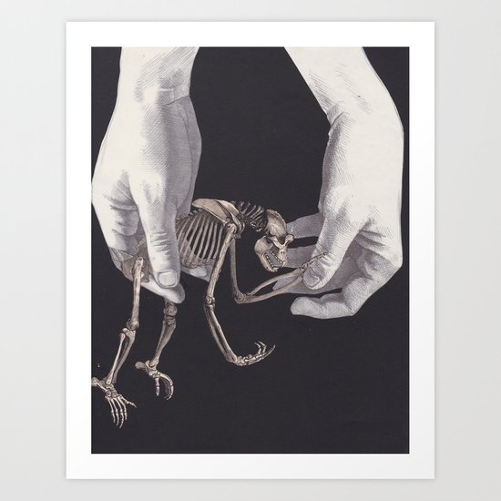 Extinction Agenda Art Print
