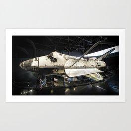 Space Shuttle Atlantis Art Print