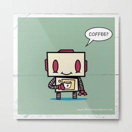 Coffee? Metal Print