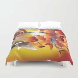 When Crazy is the State of Mind Duvet Cover