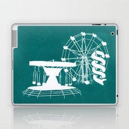 Seaside Fair in Turquoise Laptop & iPad Skin