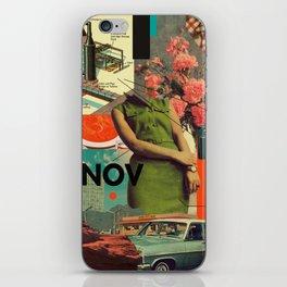 NOVember iPhone Skin