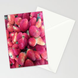Strawberries in Paloquemao - Fresas en Paloquemao Stationery Cards