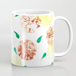 Lemon stamping pattern Coffee Mug