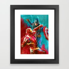 CIVIL WAR EPAP Framed Art Print