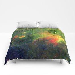 Galactic Snake in Infrared Milky Way Comforters