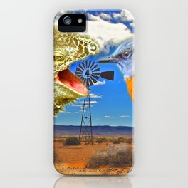Tourists in Namaqualand iPhone Case