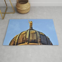 French Cathedral of Berlin Rug