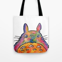 Cute Colorful To to ro - Watercolor Painting - Original Tote Bag