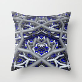 Levels and Vibrations Throw Pillow