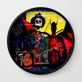 BLUES MAN Wall Clock