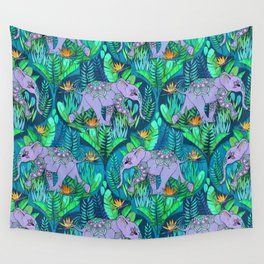 Little Elephant on a Jungle Adventure Wall Tapestry