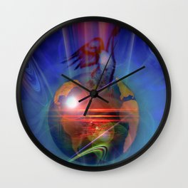 Our world is magic - Freedom Wall Clock
