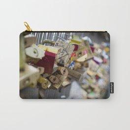 Love Padlock Paris Carry-All Pouch