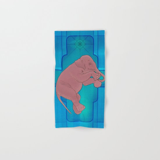 Astral Elephant Hand & Bath Towel
