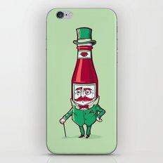 Sir Fancy Ketchup iPhone & iPod Skin
