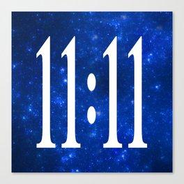 11:11 Canvas Print