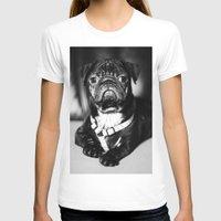 pug T-shirts featuring Pug by Falko Follert Art-FF77