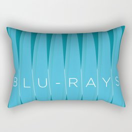 Blu-rays. By Angelica Ramos Rectangular Pillow