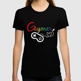 Heart GAYmer Controller T-shirt