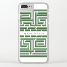The Overlook Maze Clear iPhone Case