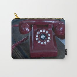 Red Phone Carry-All Pouch