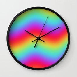 RAINBOW ENERGY Wall Clock