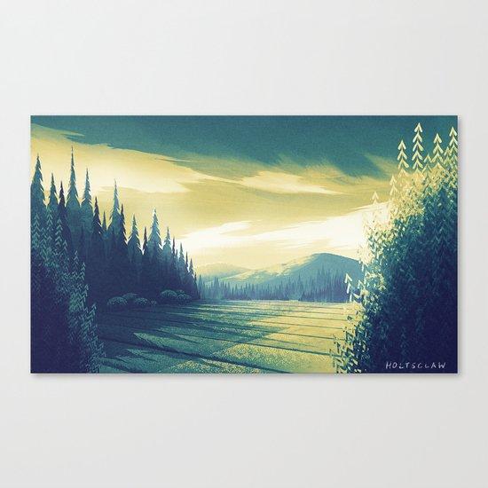 Oregon Field Canvas Print