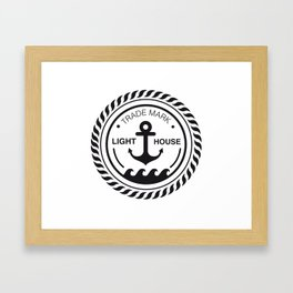 Anchor place Framed Art Print