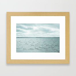 Cold As Ice Framed Art Print