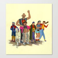 goonies Canvas Prints featuring the goonies by Robert Deutsch