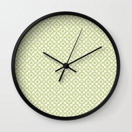 The arrows – green Wall Clock