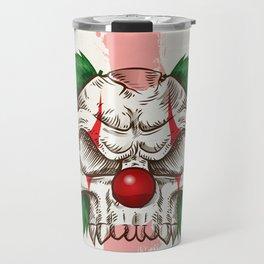 skull sketch design Travel Mug