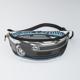 Label muscle car legend of America. Fanny Pack